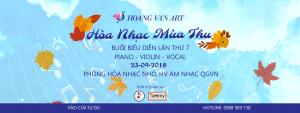 Hòa Nhạc Mùa Thu 2018 - Buổi biểu diễn lần thứ 7 - Lớp học Piano Hoàng Vân