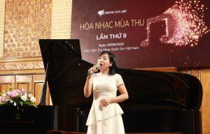 Cô Thanh Hà - Giáo viên môn Thanh nhạc