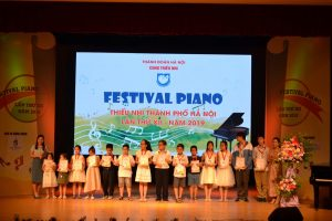 Festival Piano Hà Nội - Cung thiếu nhi lần thứ 12