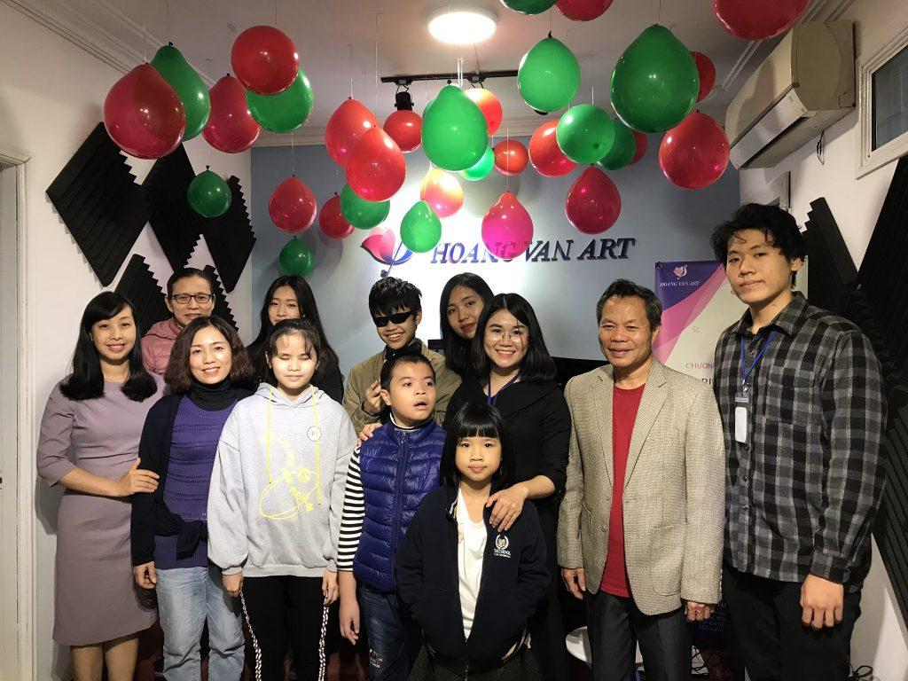 Hoang Van Art -Kỳ biểu diễn Kiểm tra quý 4 năm học 2019